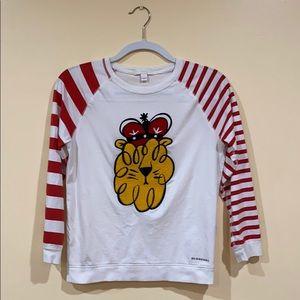 Authentic Burberry longsleeve shirt. Size 10 kids